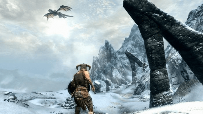 Skyrim - Games for Low-End PC in2020